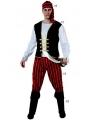Disfraz Pirata rayas