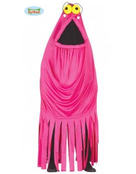 Disfraz monstruo rosa