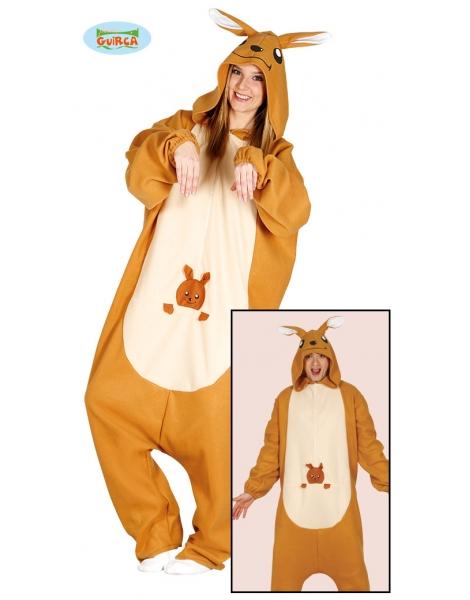 Disfraz canguro adulto