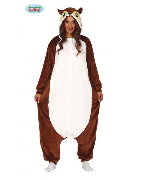Disfraz Ardilla pijama