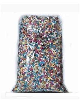 Saco de confetti multicolor económico