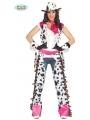 Disfraz Cowgirl Rodeo Rosa
