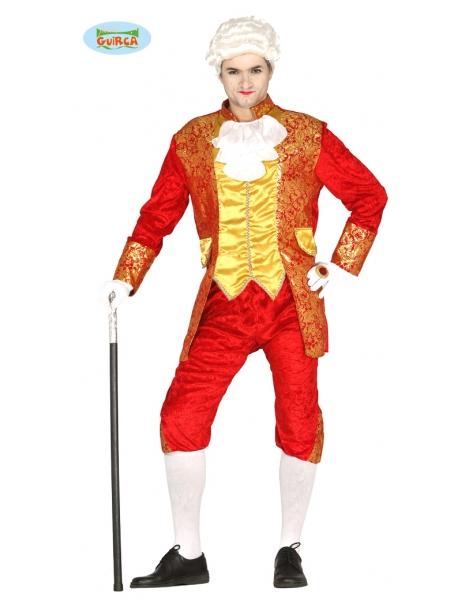 Disfraz Marqués Rojo