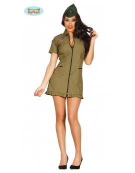 Disfraz Militar o Piloto mujer sexy