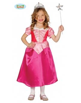 Disfraz Princesa Rosa Infantil