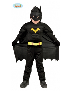 Disfraz de Black Hero o Batman infantil