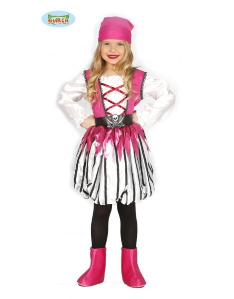 Disfraz Pirata Rosa infantil