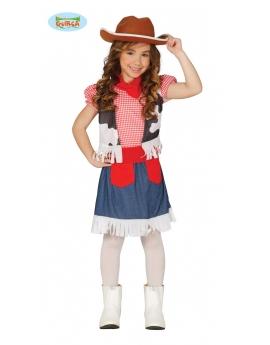Disfraz Cowgirl infantil