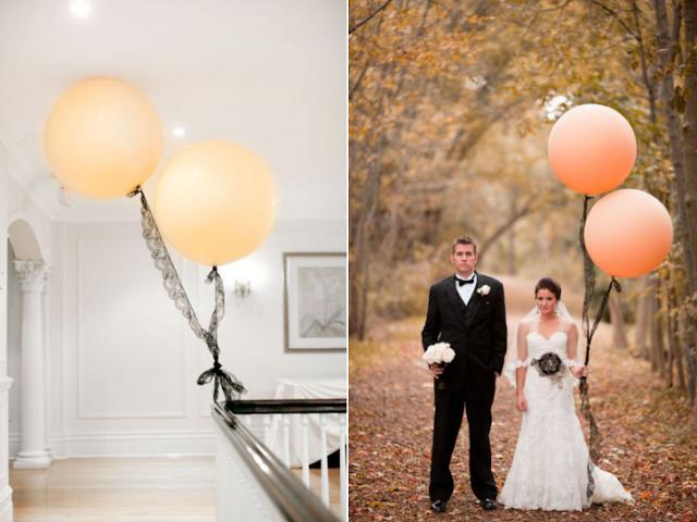 Casaments amb globus
