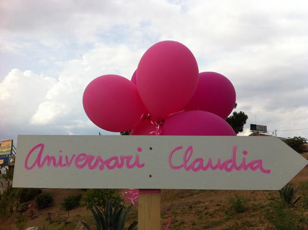 Aniversari vintage de la Claudia