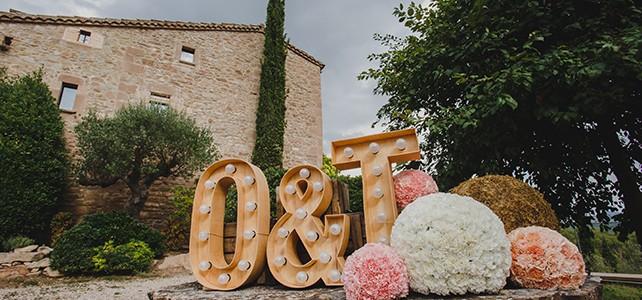 Un casament en tons suaus